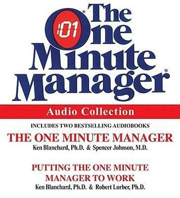 NEW The One Minute Manager Audio Collection By Blanchard Audio CD Free Shipping