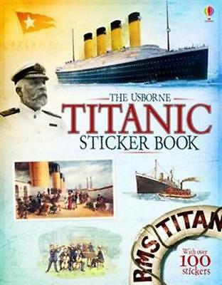 NEW Titanic Sticker Book By Emily Bone Paperback Free Shipping