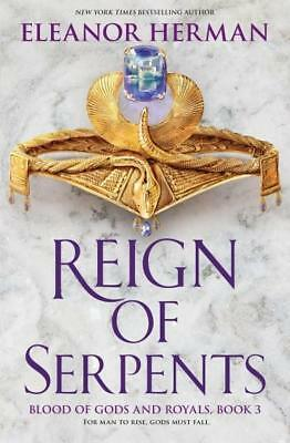 NEW REIGN OF SERPENTS By Eleanor Herman Paperback Free Shipping