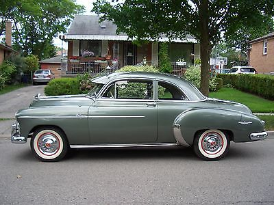 1950 Chevrolet Bel Air/150/210 DELUXE 1950 CHEVROLET DELUXE SPORT COUPE