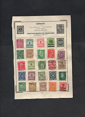 B - EUROPE COLLECTION OF ALBUM PAGES prior to 1950