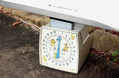 Vintage~Baby Scale~Hanson~Nursery~Decor~Photo~Prop~Made in USA~Design