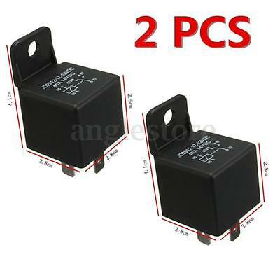 2Pcs 12V 30A 40A AMP 5 Pin Changeover Relay Automotive Car Motorcycle Boat Bike