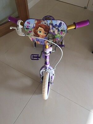 Girls Training Bike, Sofia the First, Pick up from Ryde NSW
