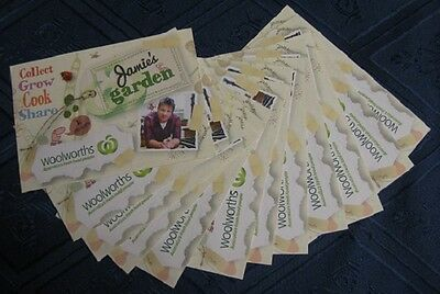 Woolworths Jamie's garden Cards, 12 cards, new, unopened