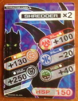 Bomb-ball card, Shredder, used, as per photo