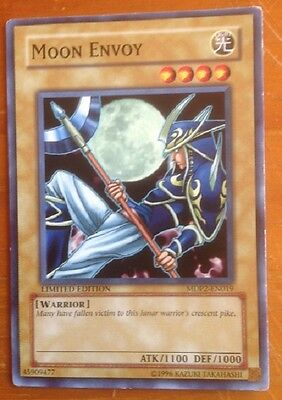 Yugioh card, Moon Envoy, used, as per photo