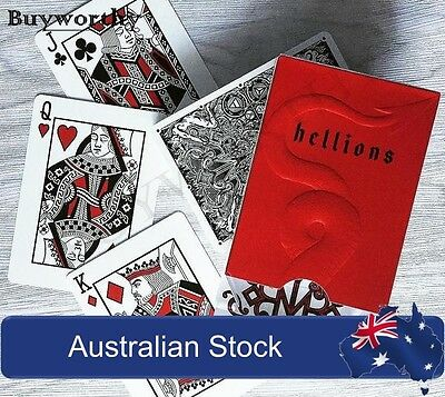 Madison Hellions Playing Cards Magic Deck Ellusionist Don't Play with the Devil