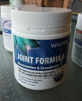 Wagner Joint Formula,  Glucosamine&Chondroitin Relief Arthritis,  200 Capsules