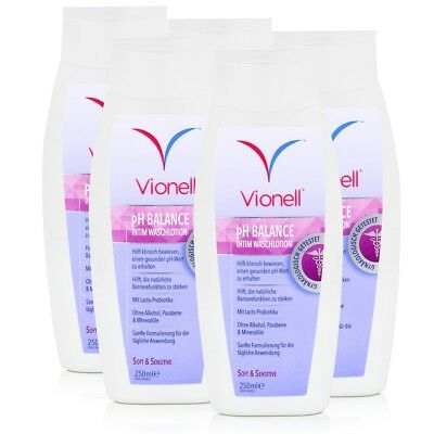 Vionell Intim Waschlotion pH Balance Soft & Sensitive 250ml (5er Pack)