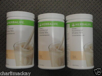 Herbalife Formula 1 F1 YOU CHOOSE FLAVOURS x 3 BEST BEFORE: 11/17 ONWARDS