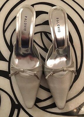 New: Silver Occasion/Bridesmaid Shoes - 4 UK, 37 EU