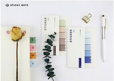 Haftnotizen Register | Page marker | Haftmarker | Sticky Notes, «Colour Stripes»