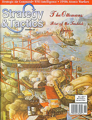 Stategy & Tactics with THE OTTOMANS game inc. Map & counters (unpunched) ref1...