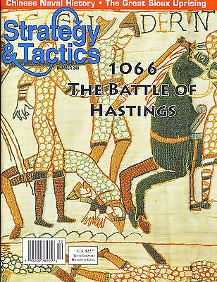 Stategy & Tactics with 1066 BATTLE OF HASTINGS game inc. Map & counters (unpu...