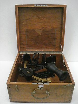 C.Plath Type GERMAN Made Marine Sextant - No. 10363  -  Made in GERMANY