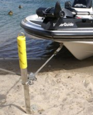 Shore Sandbar Spike Anchor LARGE Galvanized Boat Up to 30' by Slide Anchor LOSS
