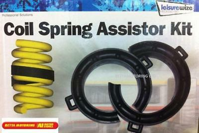 Coil Spring Assister Kit Spring Supports 26-38mm X 2 For Towing & Heavy Loads