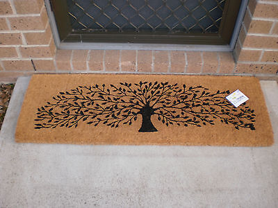 Tree Of Life Thick and Wide 100% Natural Coir Door Mat