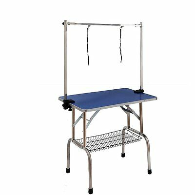 Adjustable Portable Dog Grooming Table for Medium Sized Dogs