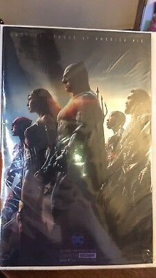 JUSTICE LEAGUE Comic #10 SDCC 2017 DC Wonder Woman Batman Flash Foil Variant NM