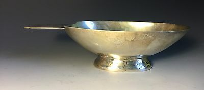 Mid Century Modern Sterling Silver Juventino Lopez Reyes Bowl