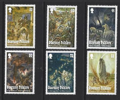 Guernsey 2017 Folklore Set Of 6 Unmounted Mint, Mnh