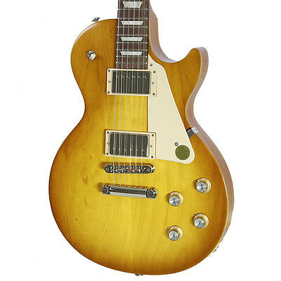 Used 2017 Gibson Les Paul Tribute Faded Honey Burst Electric Gutiar
