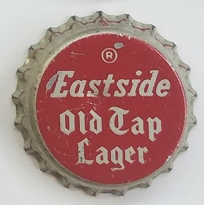 EASTSIDE OLD TAP LAGER Beer Bottle Caps Crown USED CORK Cap
