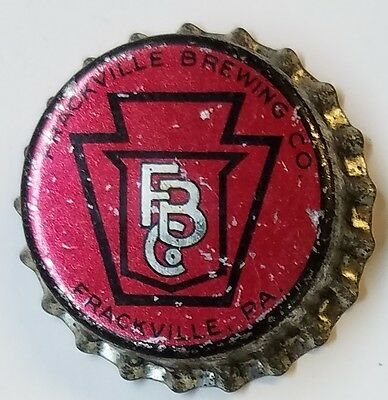 FRACKVILLE BREWING CO PA TAX Beer Bottle Caps Crown UNUSED CORK Cap