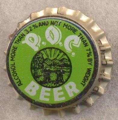 PRIDE OF CLEVELAND OHIO TAX Beer Bottle Caps Crown UNUSED CORK Cap