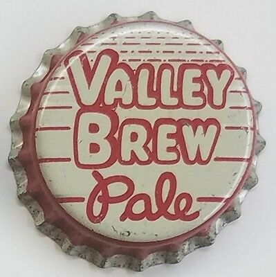 VALLEY BREW PALE Beer Bottle Cap Crown UNUSED CORK Caps