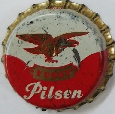 YUSAY PILSEN (B) Beer Bottle Caps Crown USED CORK Cap