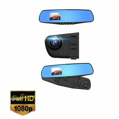 2.8 1080P Dash Cam Video Recorder Rearview Mirror Car Camera Vehicle DVR XH
