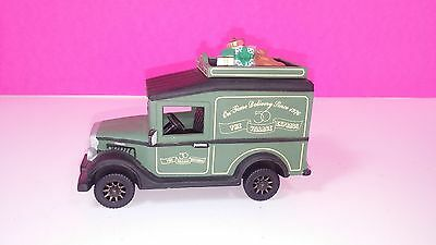 Department 56 On Time Delivery Van Heritage Vintage Collection Snow Christmas