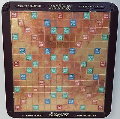 Scrabble 50th Anniversary REPLACEMENT BOARD Plastic Turntable