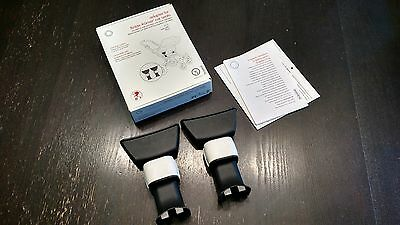 Bugaboo Britax-Romer carseat adapters for chameleon and bugaboo stroller