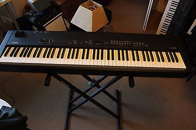 Yamaha p45 electric piano with stand seat pedal p 45 for Yamaha p105 sustain pedal