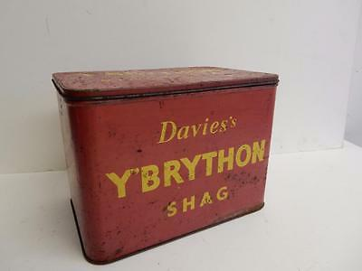 old tin box DAVIES CHESTER Y BRYTHON TOBACCO TIN
