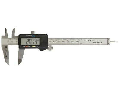 "FAITHFULL 150mm (6"") STAINLESS STEEL FOUR WAY DIGITAL VERNIER CALIPER + CASE"