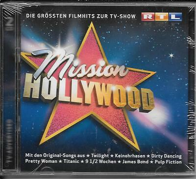 2 CD Titanic,Rocky,Dirty Dancing,Das Boot `Mission Hollywood` Neu/OVP Soundtrack