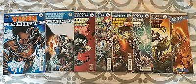 Justice League of America (DC Comics Rebirth) Lot, One Shot, Issues 1 2 3 4 5, +