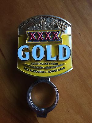 XXXX Gold Beer Tap Decal