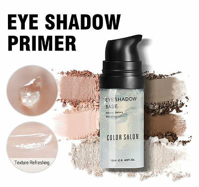 Color Salon Eye Shadow Base Primer 12ml Prolong Makeup Under Shadow Stay Lasting