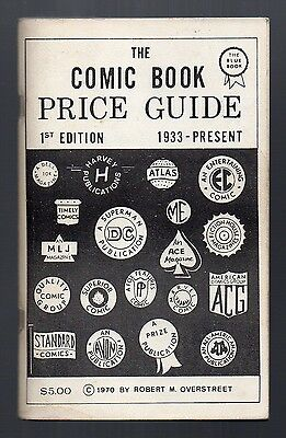 The Overstreet Comic Book Price Guide #1 1st Ed Sharp Orig Owner Copy FREE S/H