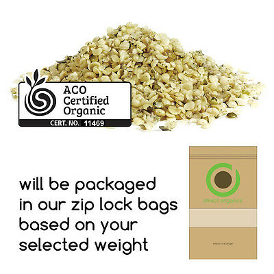 Certified Organic Hulled Hemp Seeds