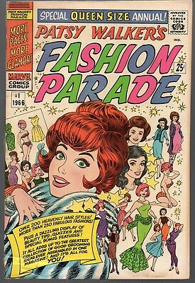 Patsy Walker's Fashion Parade #1 Giant-Record Riot BC Variant Paper Dolls FREESH