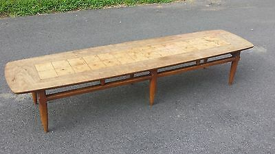 Lane Surfboard Coffee Table / Vintage Mid Century Modern / Style No 76