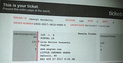 Eagles Concert Tickets featuring Vince Gill and Deacon Frey