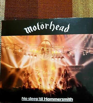Motorhead no sleep ti hammersmith 2 cd